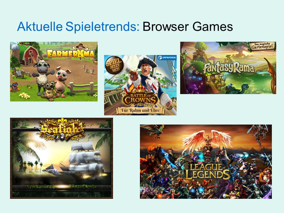 Aktuelle Spieletrends: Browser Games