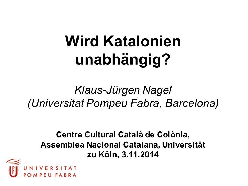 Wird Katalonien unabhängig