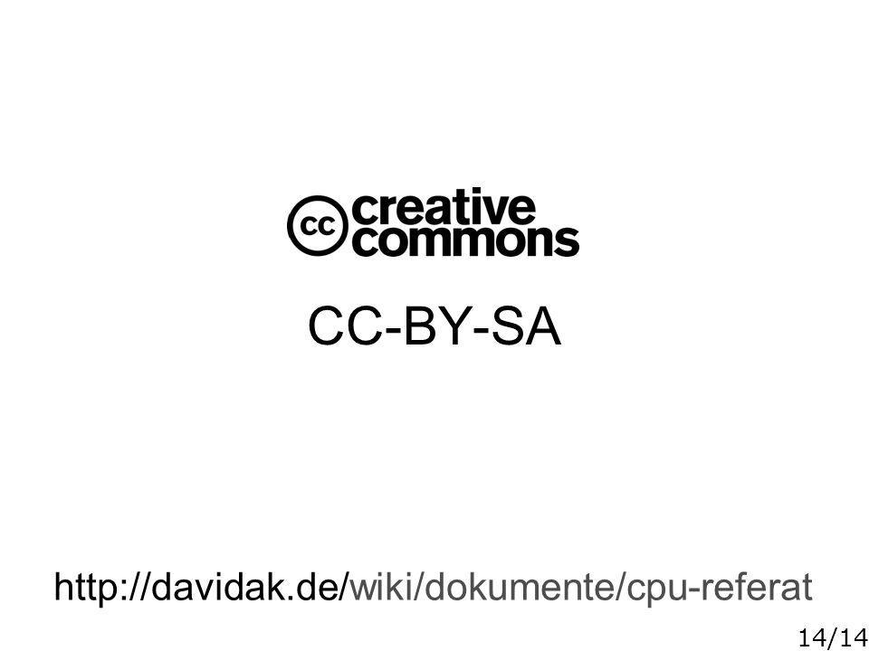 CC-BY-SA http://davidak.de/wiki/dokumente/cpu-referat