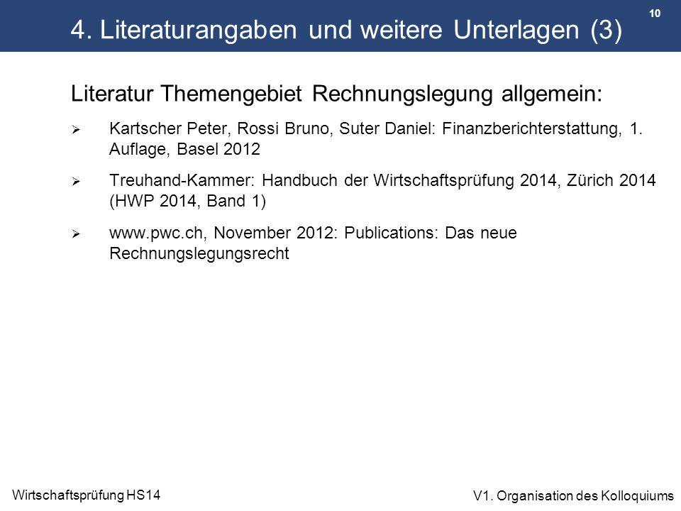 4. Literaturangaben und weitere Unterlagen (3)