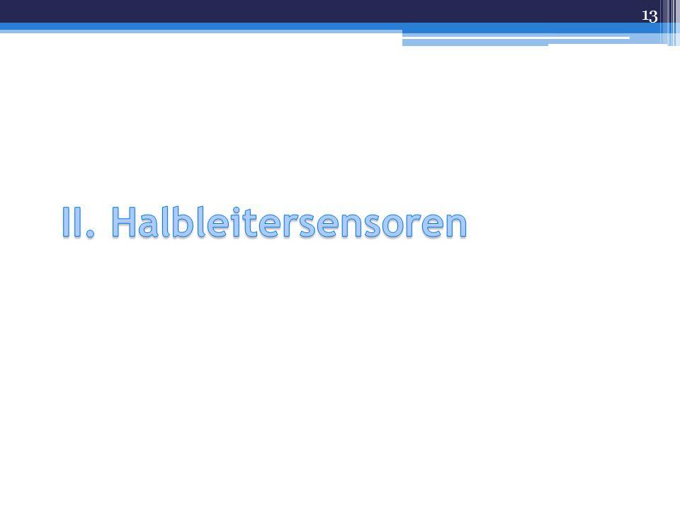 II. Halbleitersensoren