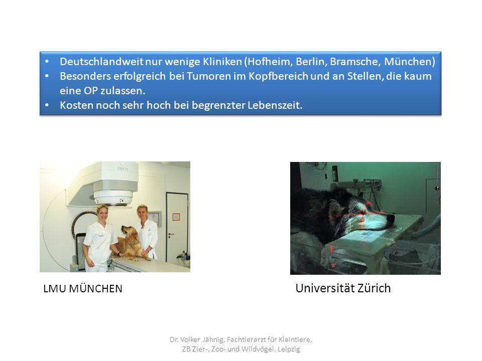 Deutschlandweit nur wenige Kliniken (Hofheim, Berlin, Bramsche, München)