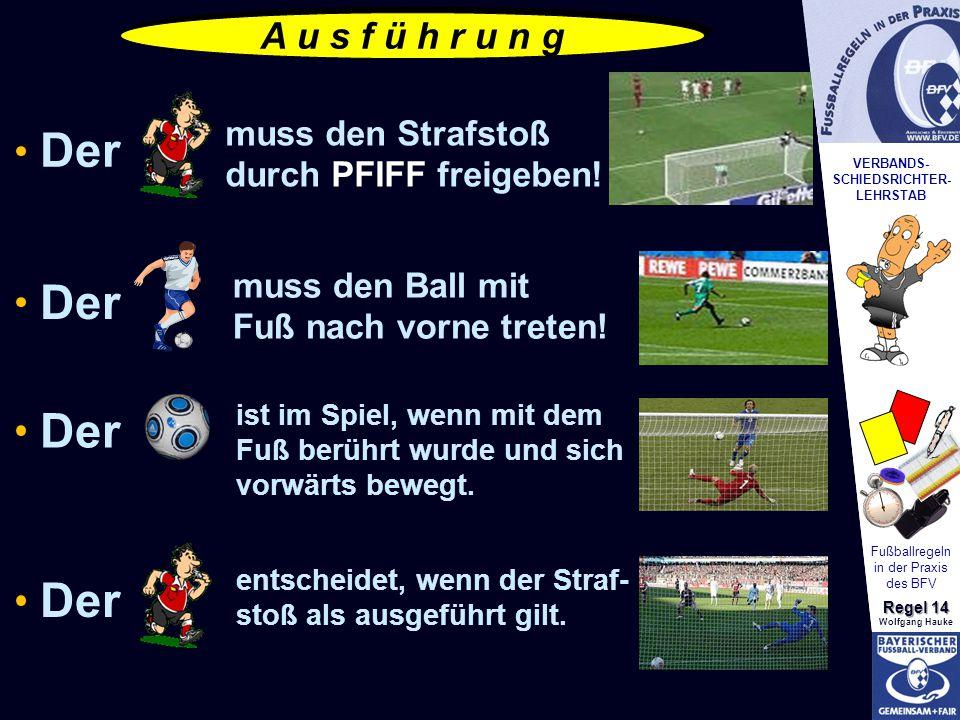 Fußballregeln in der Praxis