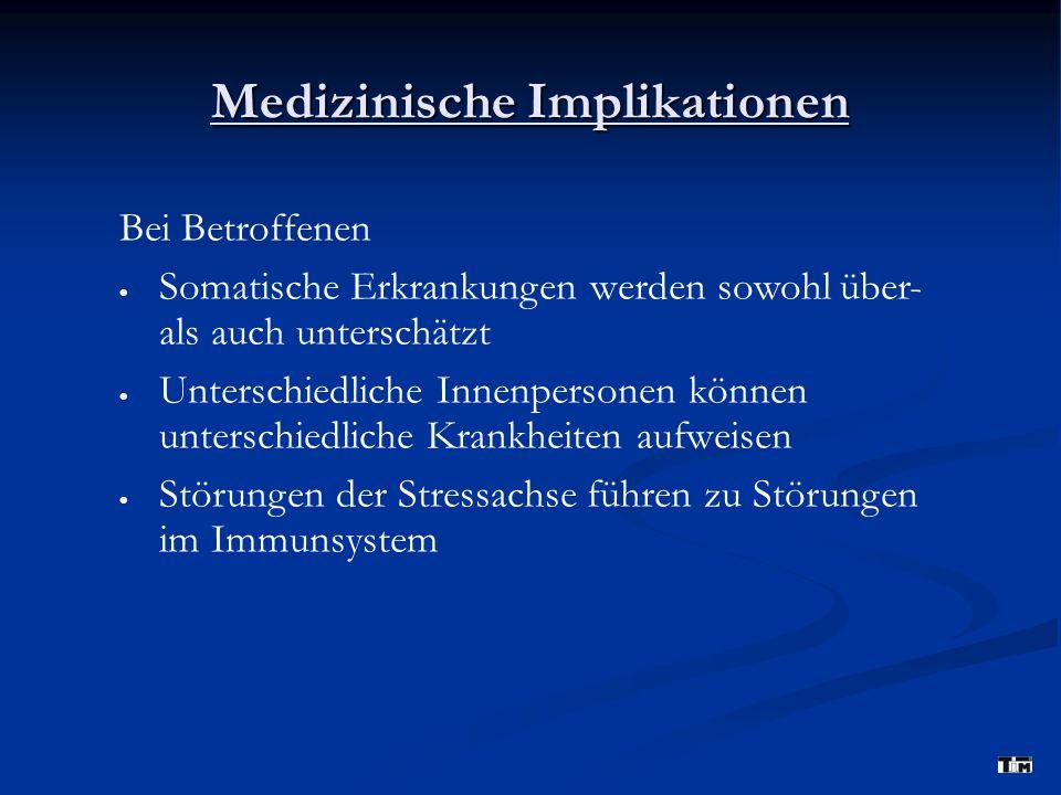 Medizinische Implikationen