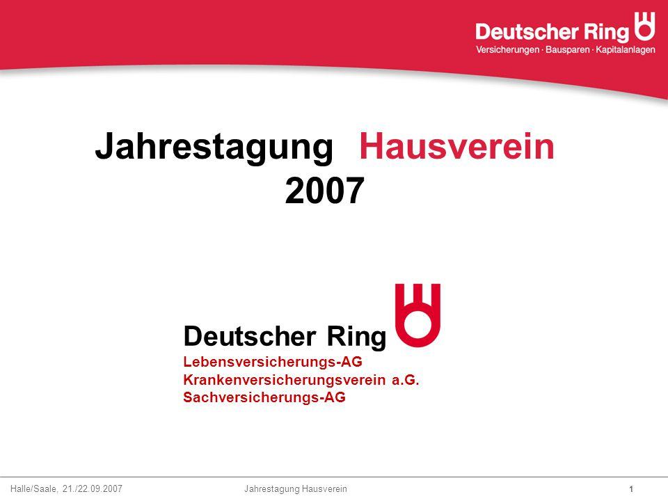 Jahrestagung Hausverein 2007