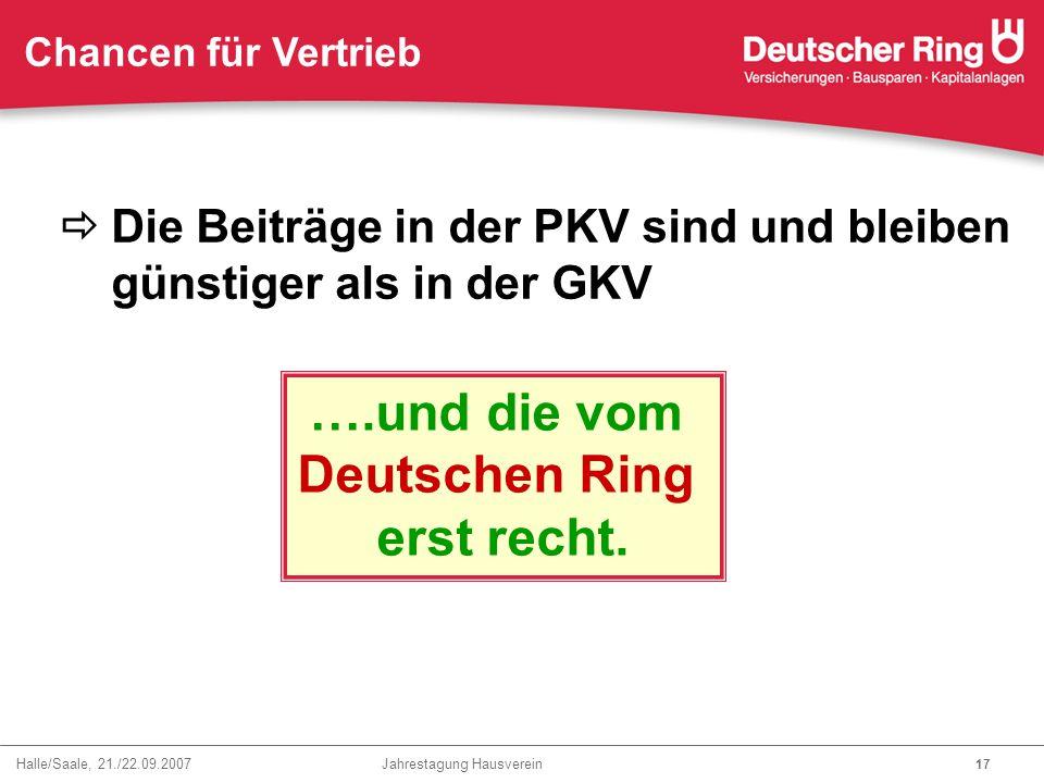….und die vom Deutschen Ring erst recht.