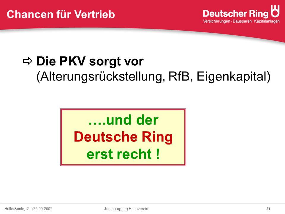 Deutsche Ring erst recht !