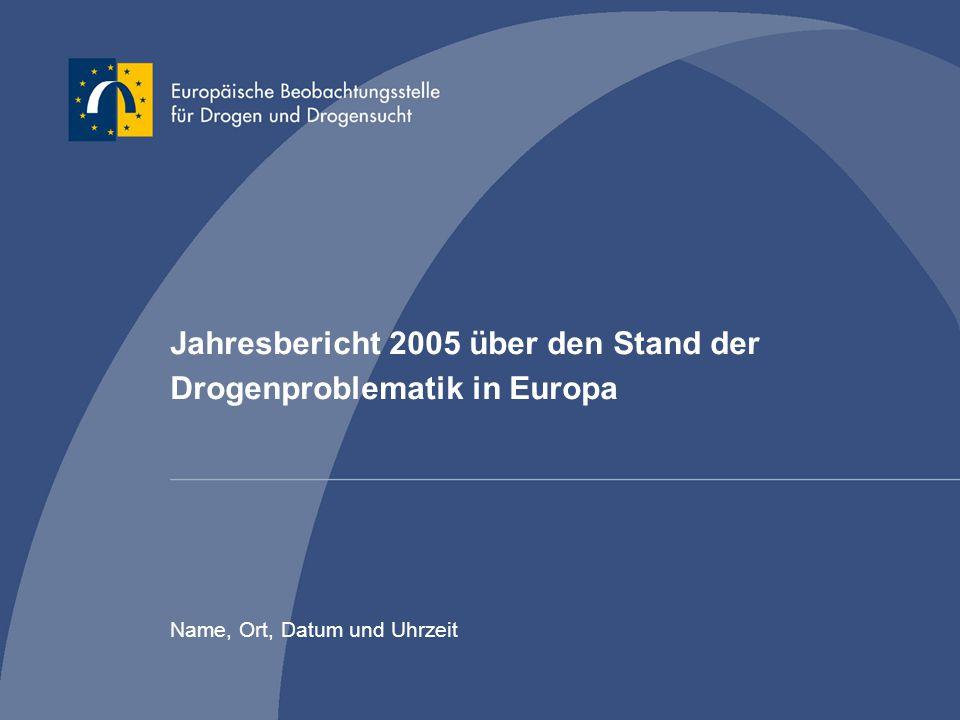 Jahresbericht 2005 über den Stand der Drogenproblematik in Europa
