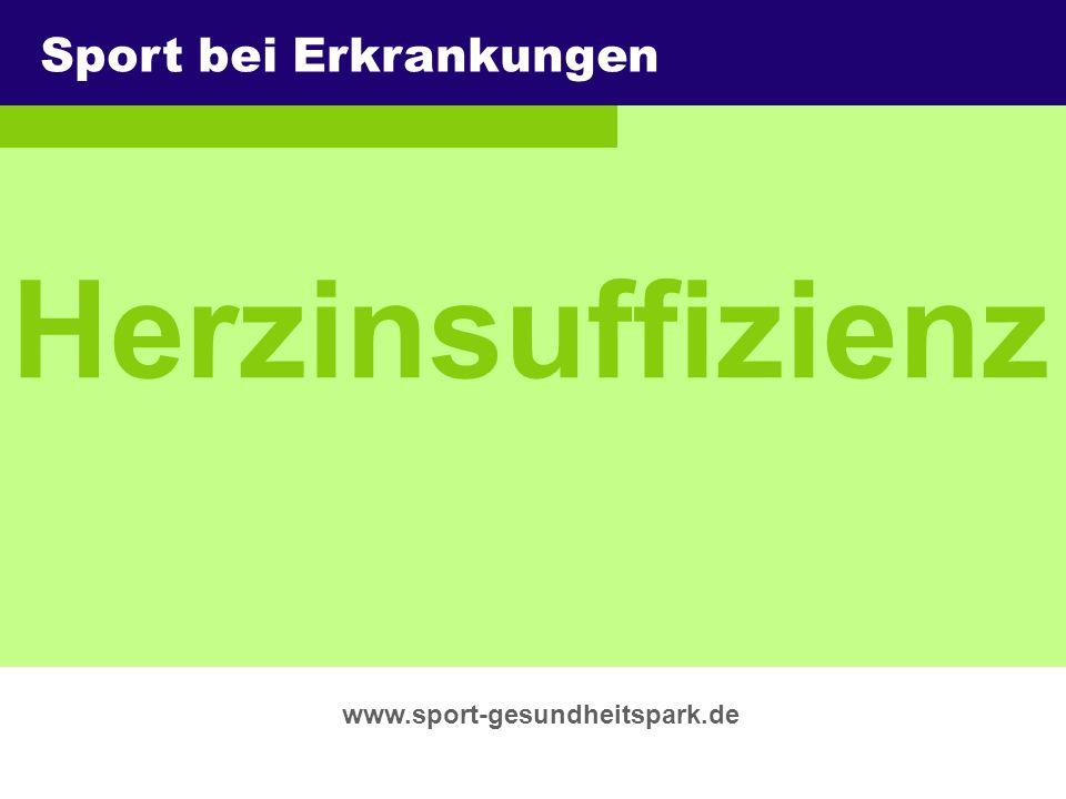 Herzinsuffizienz Sport bei Erkrankungen Überschrift Untertitel