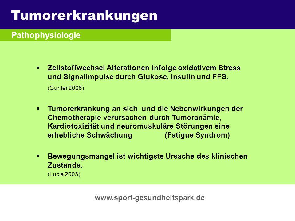 Tumorerkrankungen Überschrift Pathophysiologie Untertitel