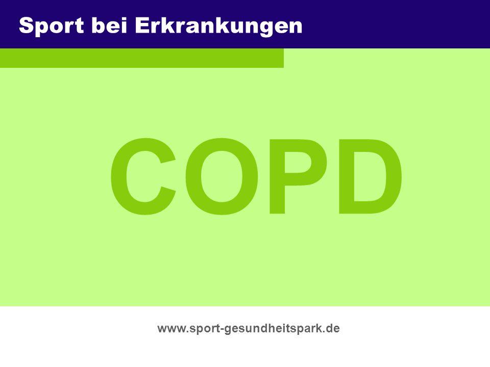 COPD Sport bei Erkrankungen Überschrift Untertitel