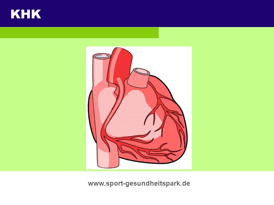KHK Überschrift Untertitel www.sport-gesundheitspark.de Thema