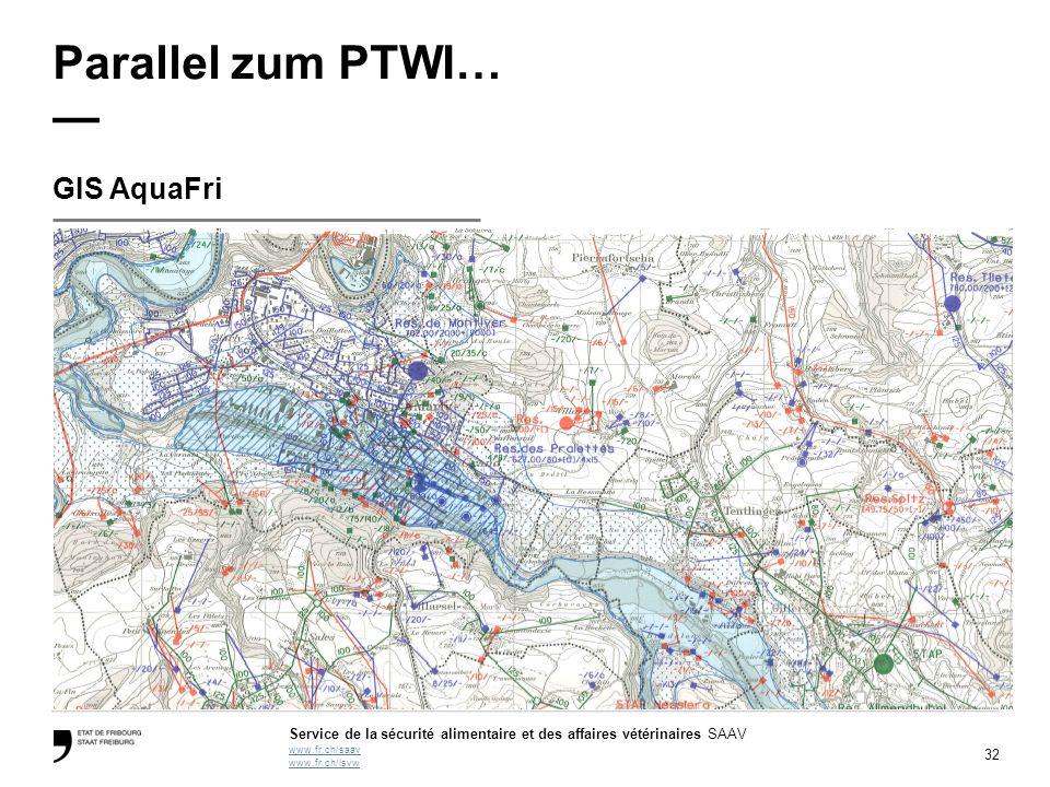 Parallel zum PTWI… — GIS AquaFri