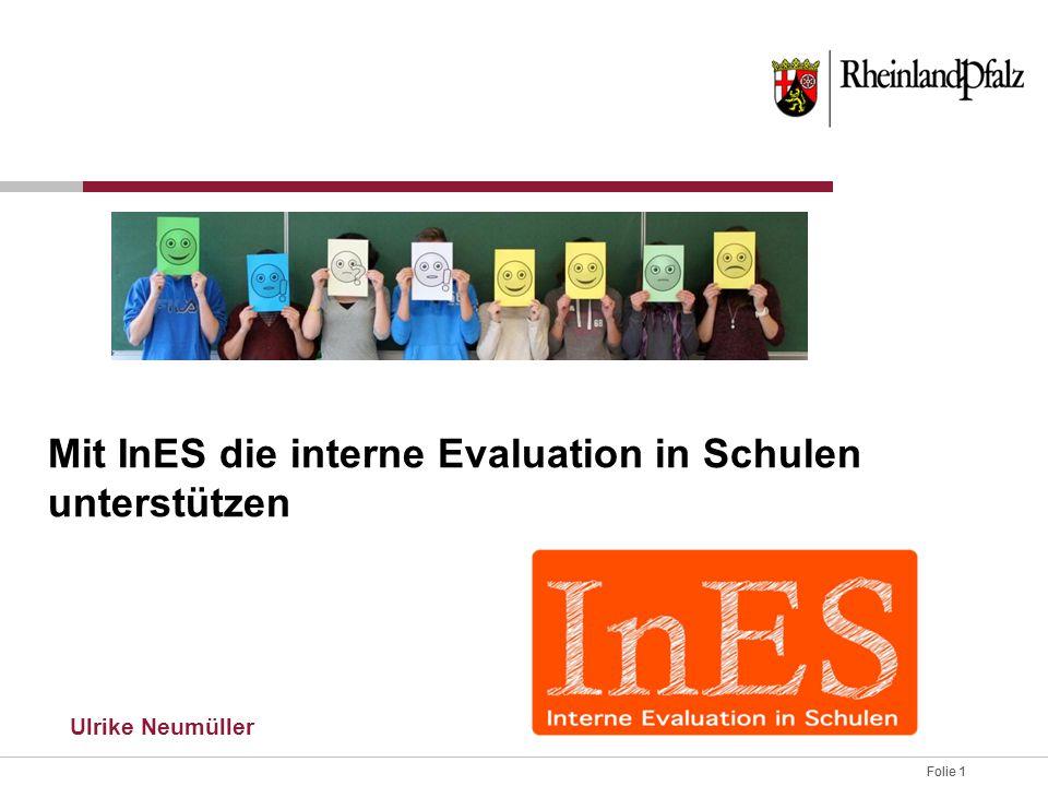 Mit InES die interne Evaluation in Schulen unterstützen