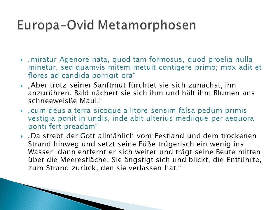 Europa-Ovid Metamorphosen