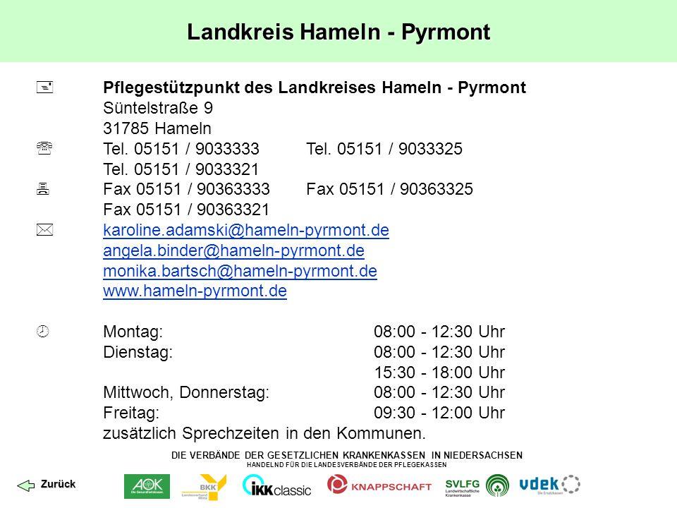 Landkreis Hameln - Pyrmont