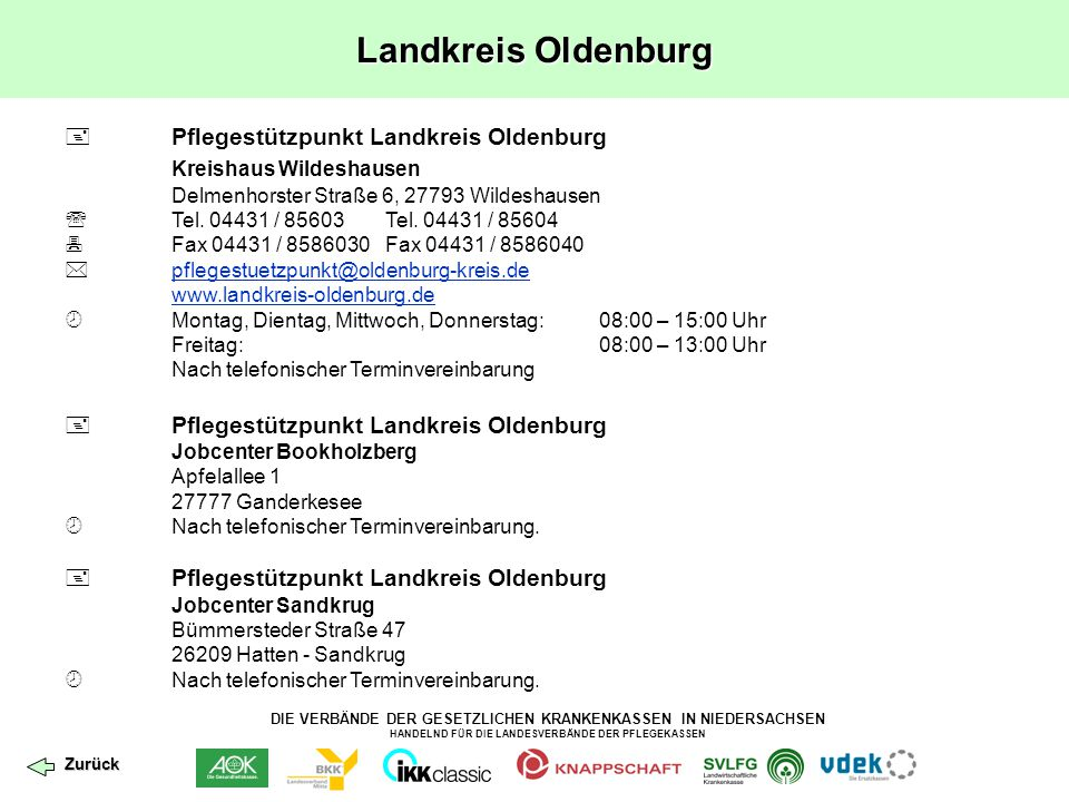 Landkreis Oldenburg Kreishaus Wildeshausen