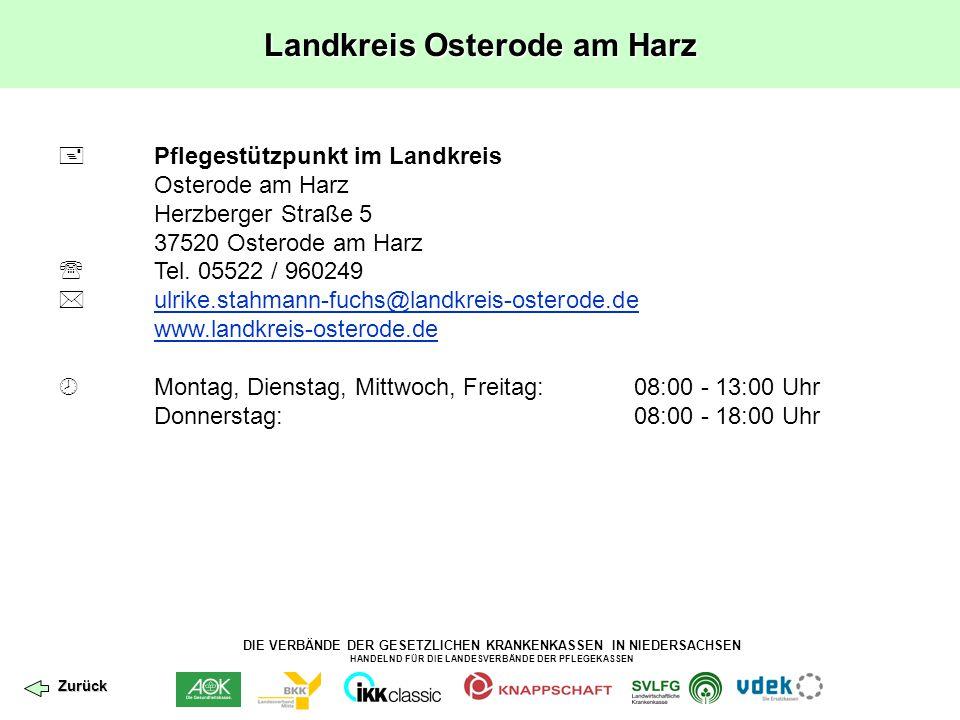 Landkreis Osterode am Harz