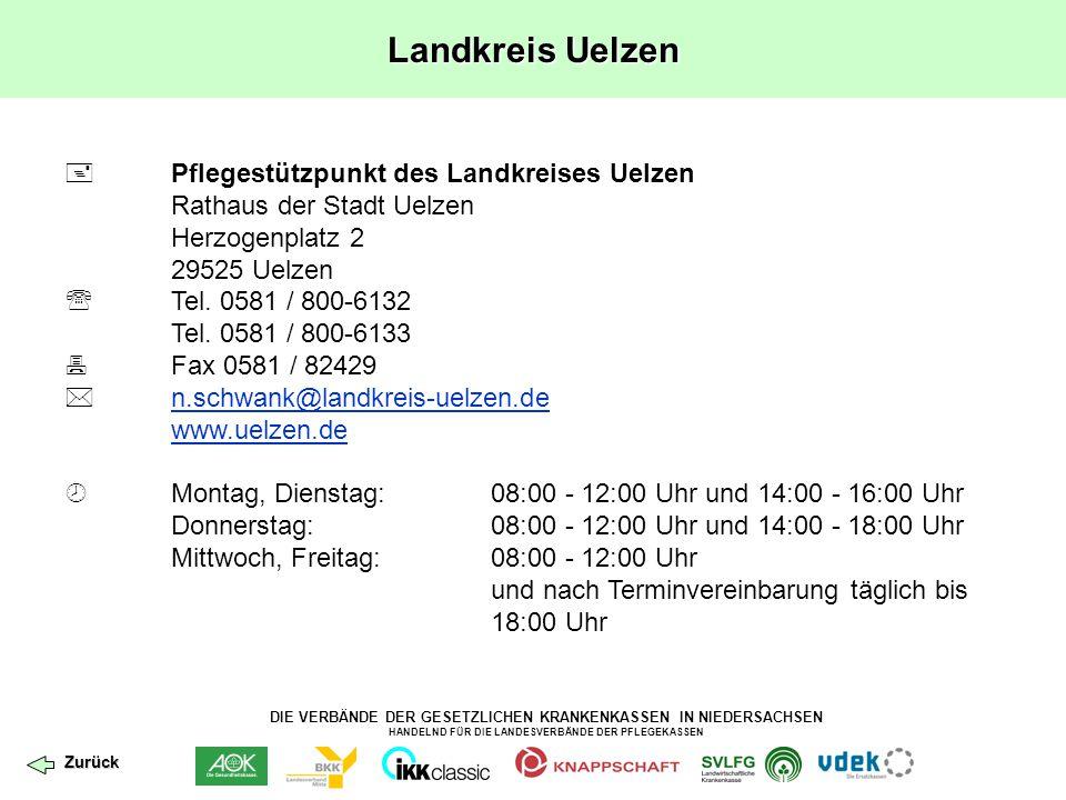 Landkreis Uelzen  Pflegestützpunkt des Landkreises Uelzen