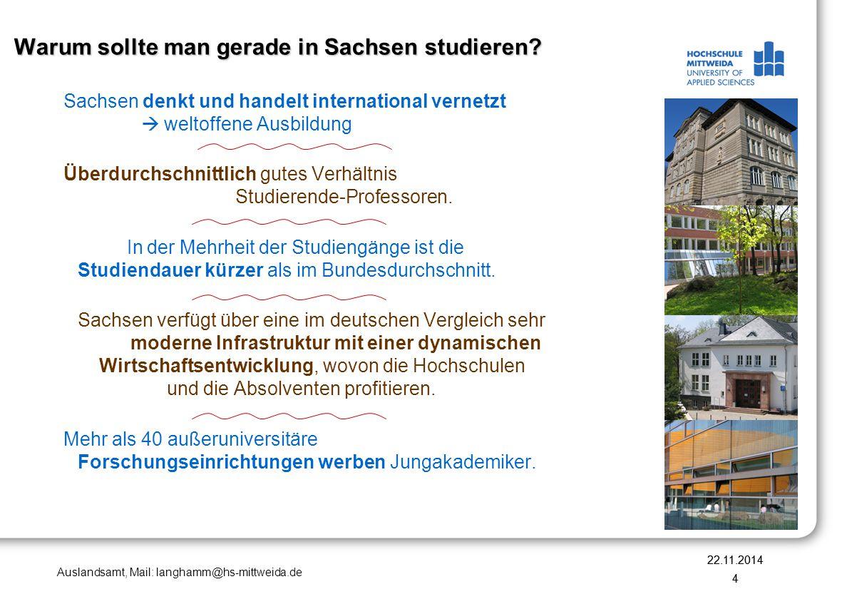 Warum sollte man gerade in Sachsen studieren