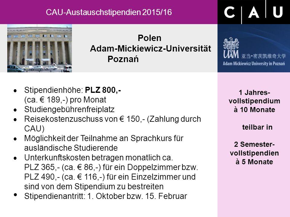Polen Adam-Mickiewicz-Universität