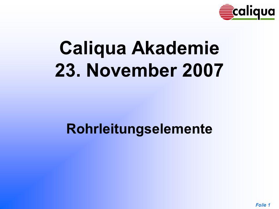 Caliqua Akademie 23. November 2007