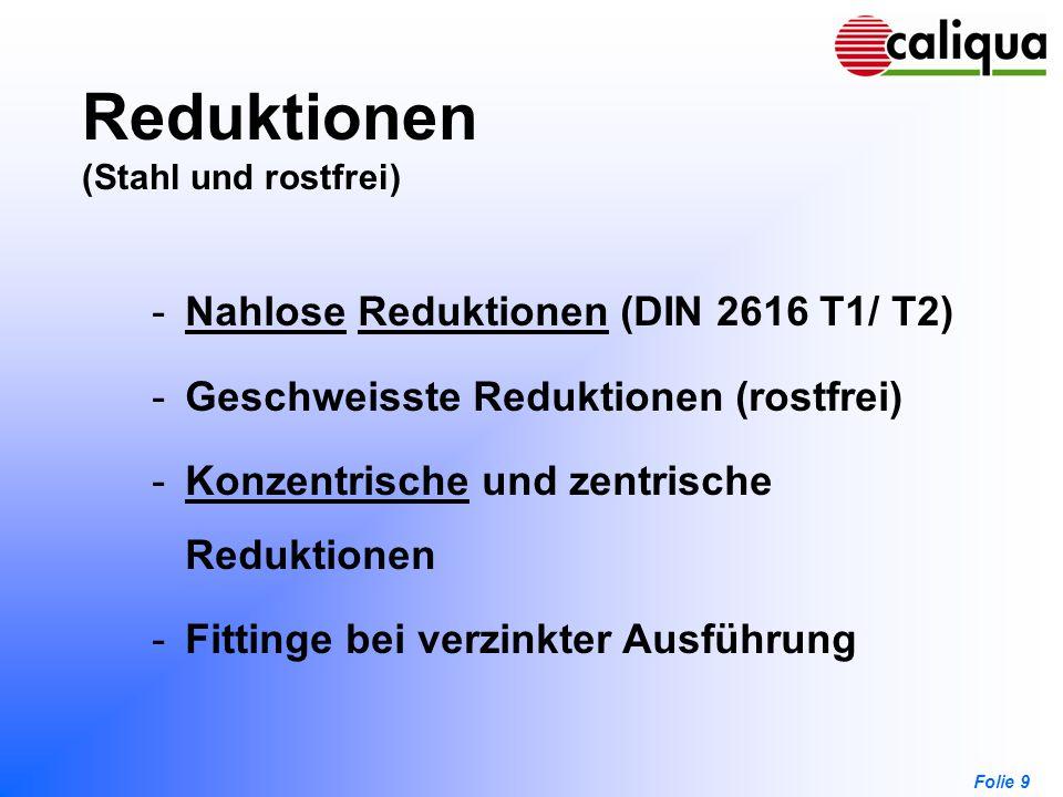 Reduktionen (Stahl und rostfrei)