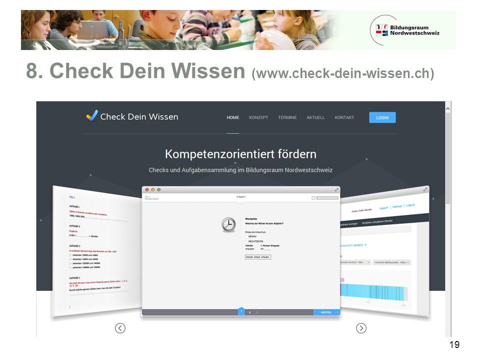 8. Check Dein Wissen (www.check-dein-wissen.ch)