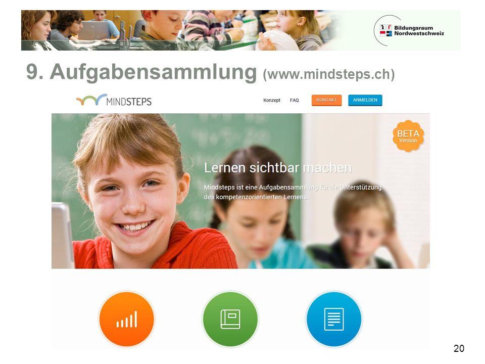 9. Aufgabensammlung (www.mindsteps.ch)