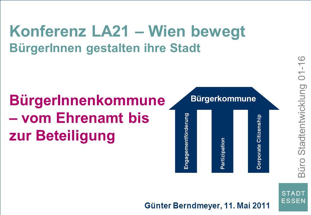 Konferenz LA21 – Wien bewegt BürgerInnen gestalten ihre Stadt