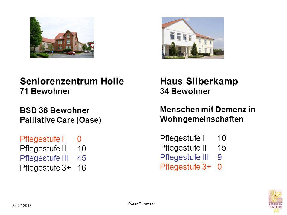 Seniorenzentrum Holle Haus Silberkamp 34 Bewohner