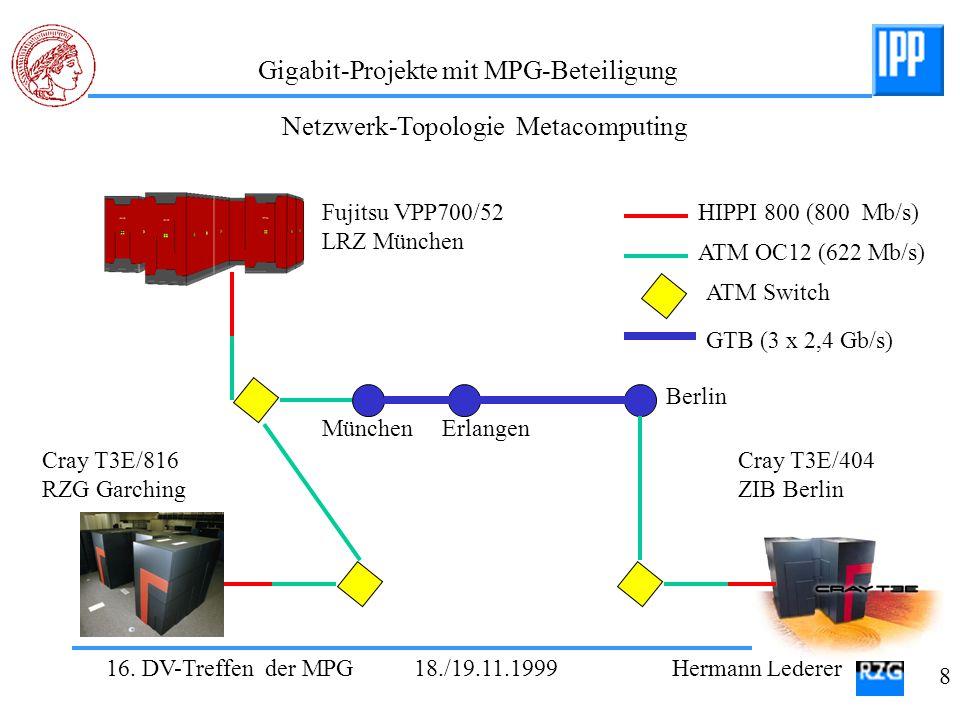 Netzwerk-Topologie Metacomputing