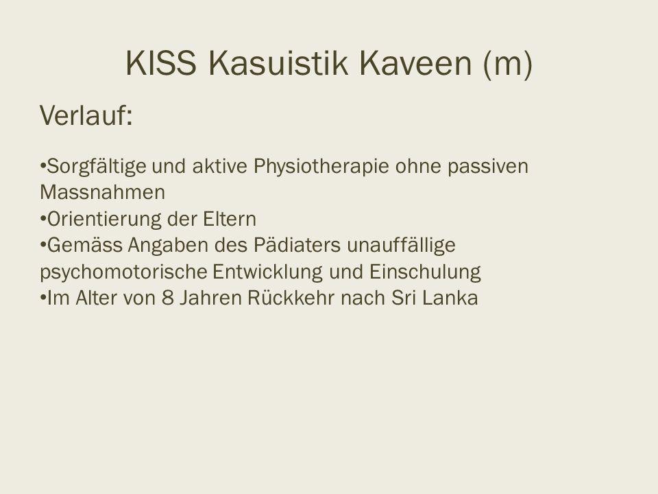 KISS Kasuistik Kaveen (m)