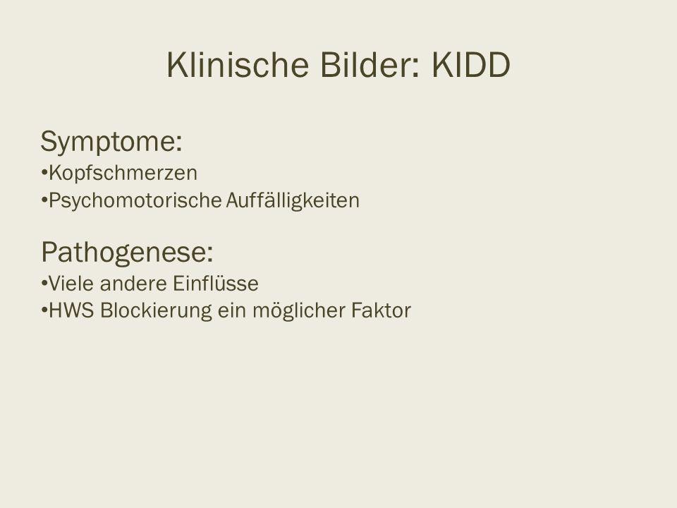 Klinische Bilder: KIDD