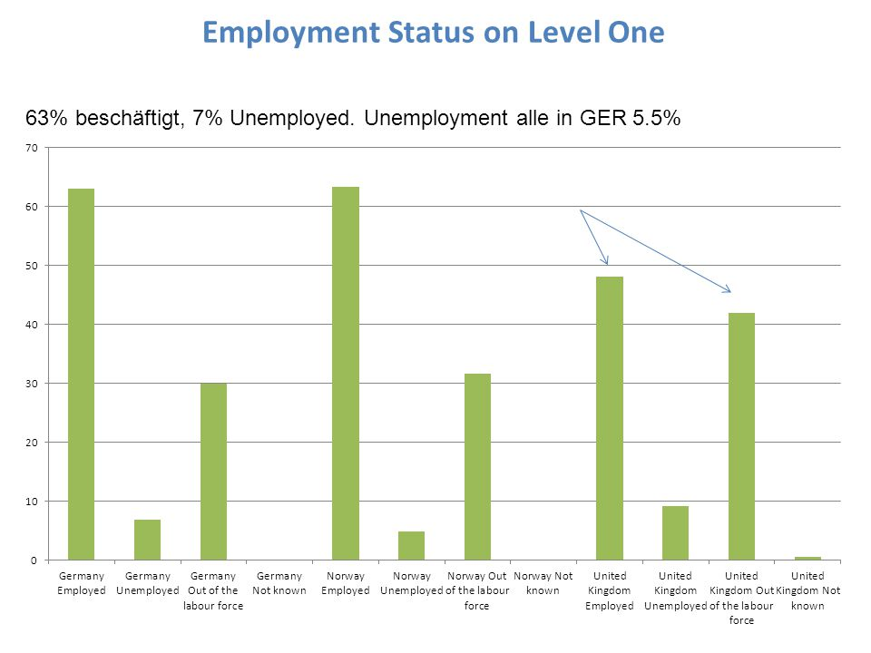 Employment Status on Level One