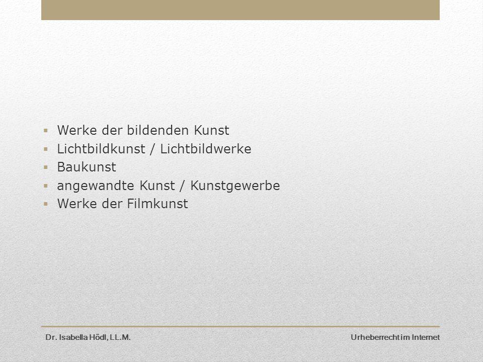 Werke der bildenden Kunst Lichtbildkunst / Lichtbildwerke Baukunst