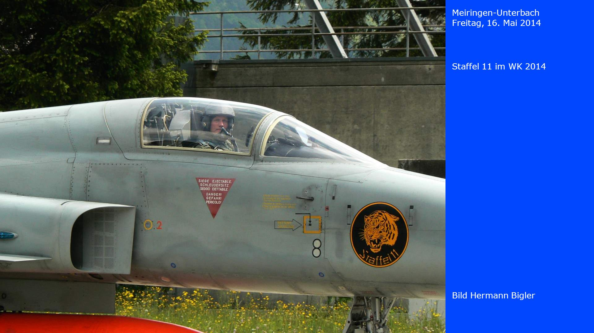 Meiringen-Unterbach Freitag, 16. Mai 2014 Staffel 11 im WK 2014 Bild Hermann Bigler