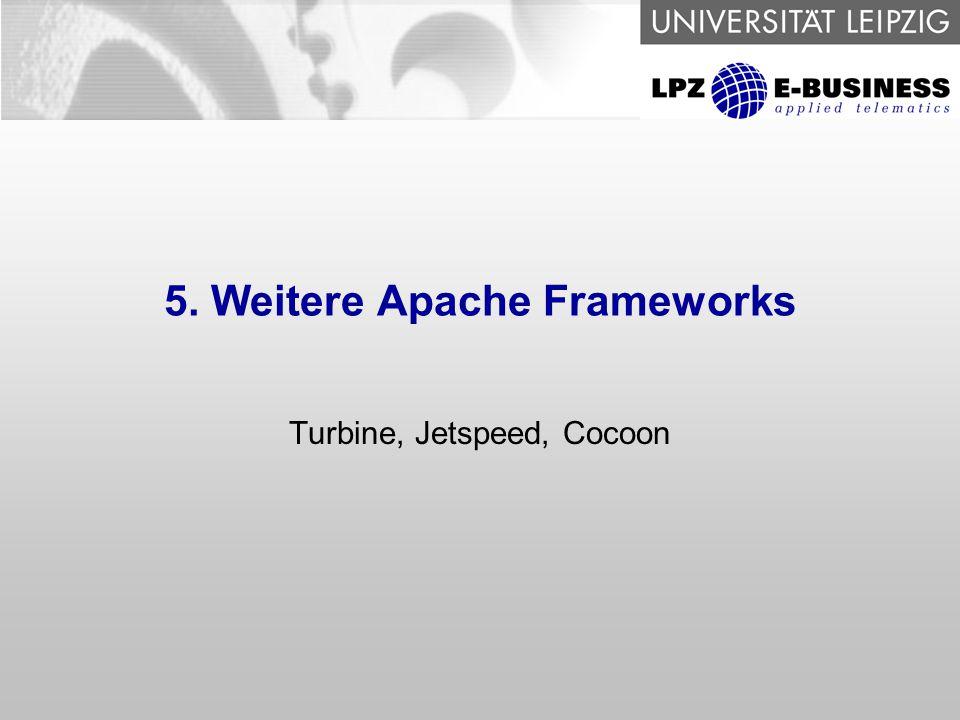 5. Weitere Apache Frameworks