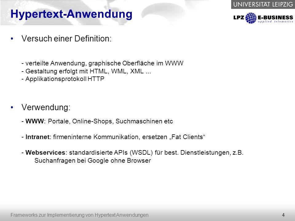 Hypertext-Anwendung