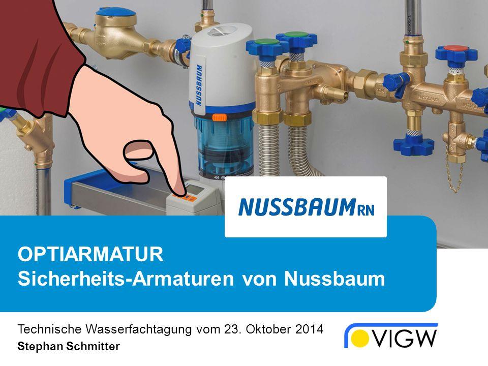 OPTIARMATUR Sicherheits-Armaturen von Nussbaum