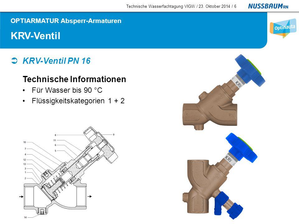 OPTIARMATUR Absperr-Armaturen