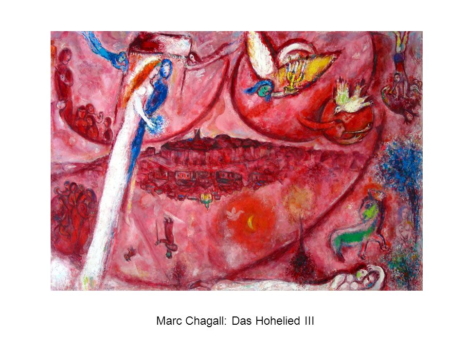 Marc Chagall: Das Hohelied III
