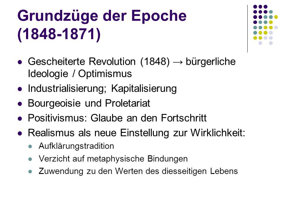 Grundzüge der Epoche (1848-1871)