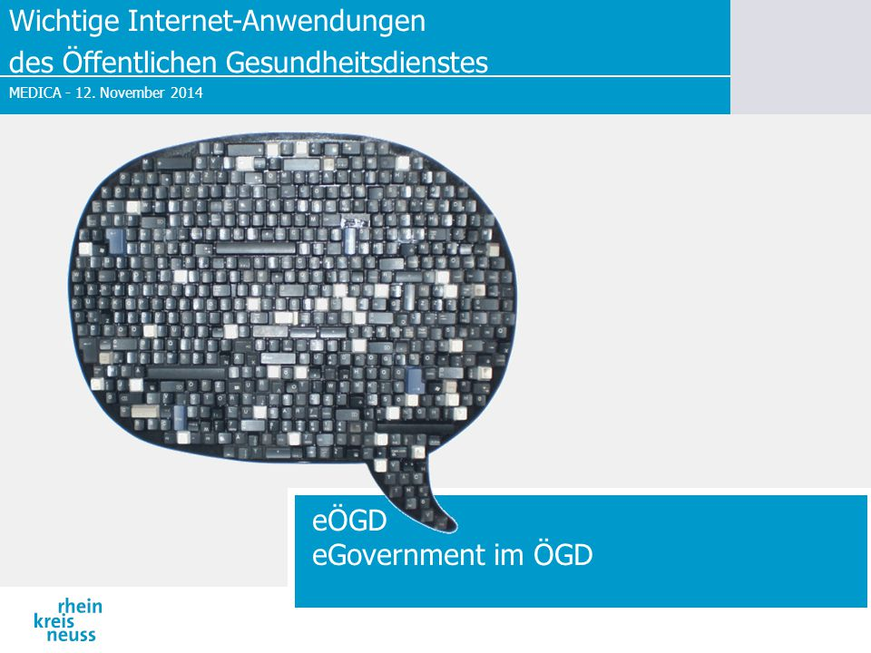 eÖGD eGovernment im ÖGD