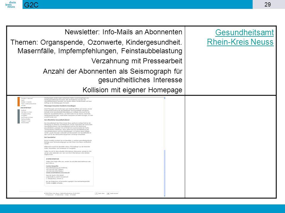 Gesundheitsamt Rhein-Kreis Neuss
