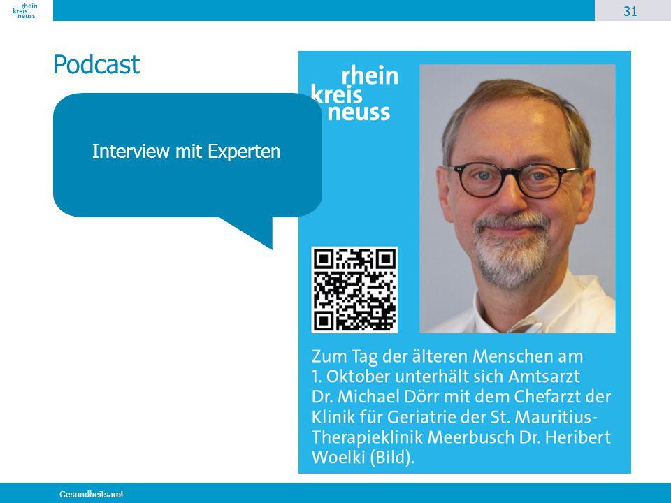 Interview mit Experten
