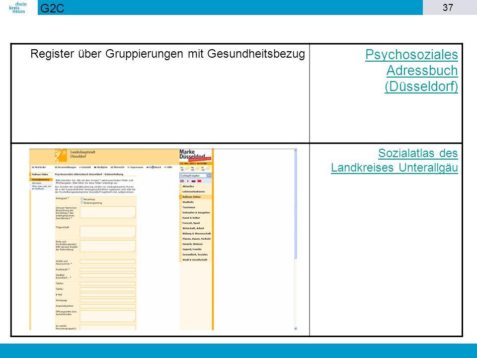 Psychosoziales Adressbuch (Düsseldorf)
