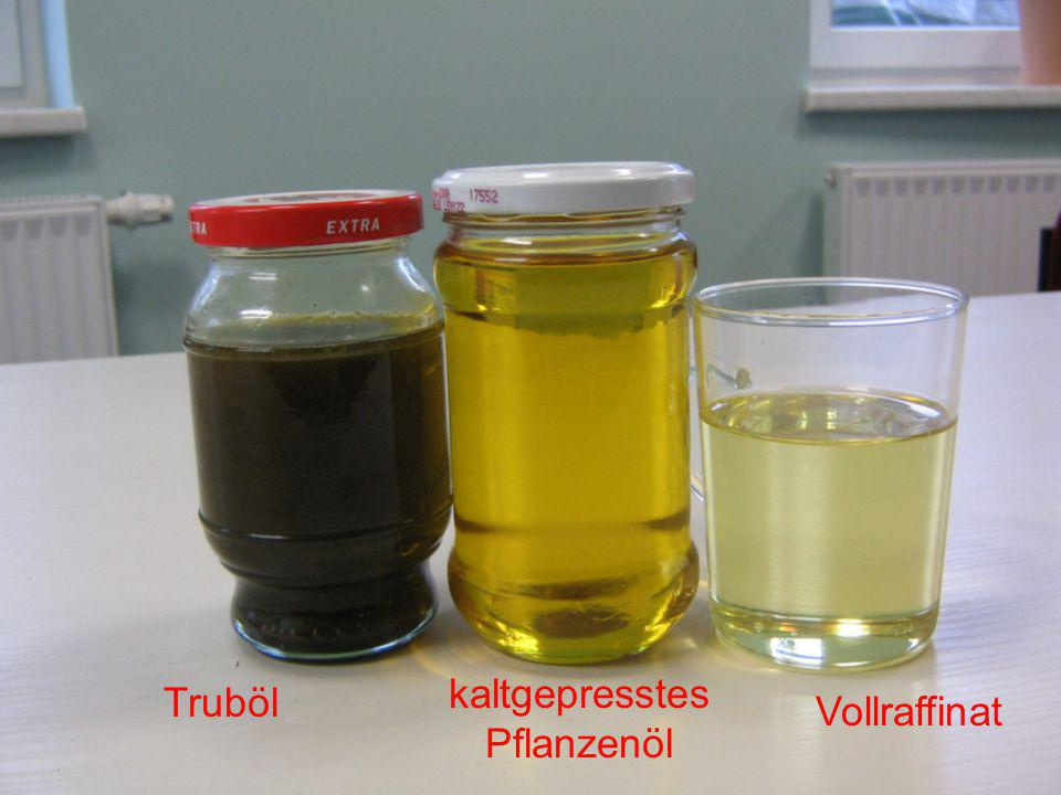 kaltgepresstes Pflanzenöl