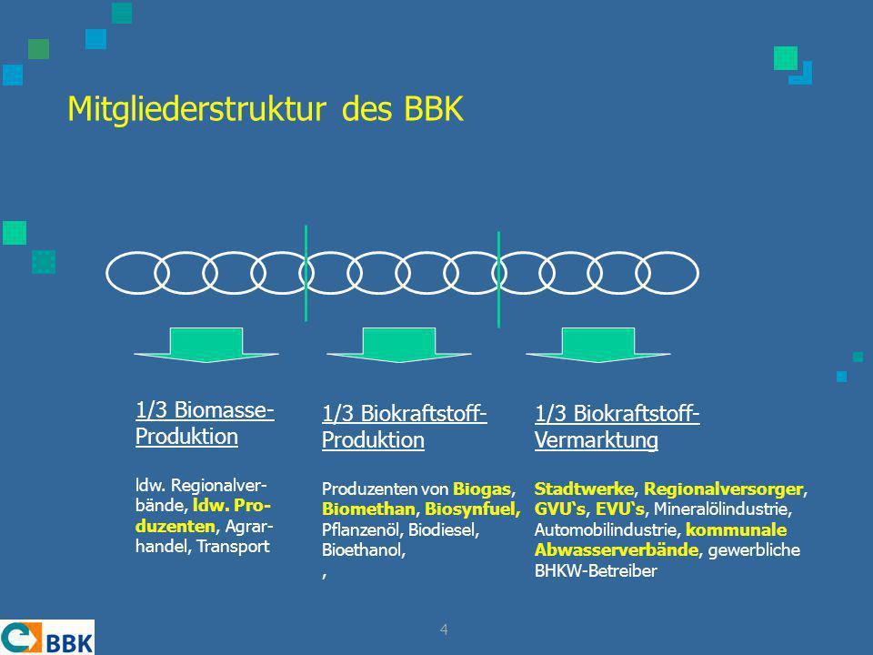 Mitgliederstruktur des BBK