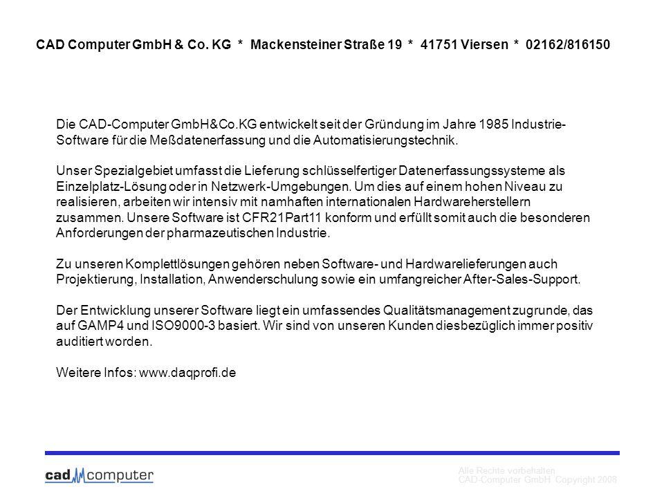 Weitere Infos: www.daqprofi.de
